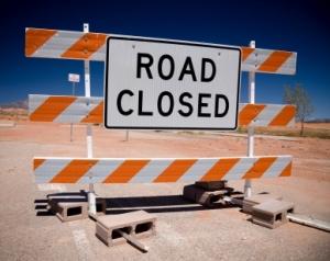 recovery roadblock
